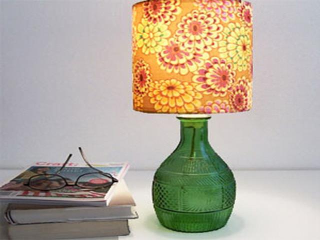 lampa Настольная лампа своими руками: каркас, абажур, плафон
