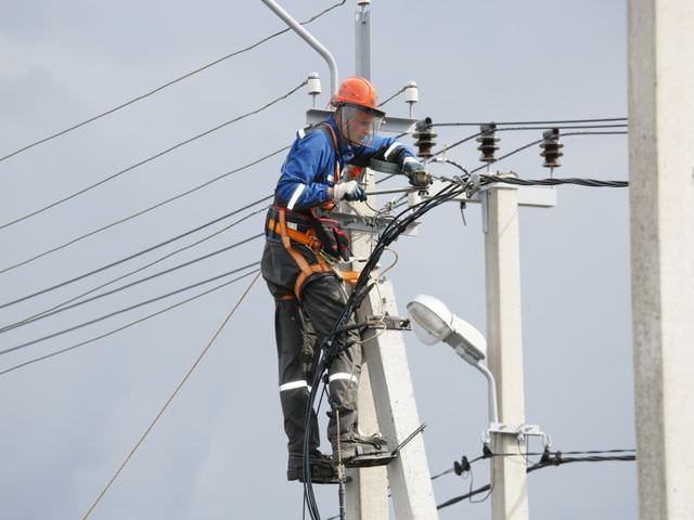 выполнение работ по содержанию и ремонту уличного освещения
